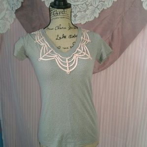 FOSSIL modern vintage top small
